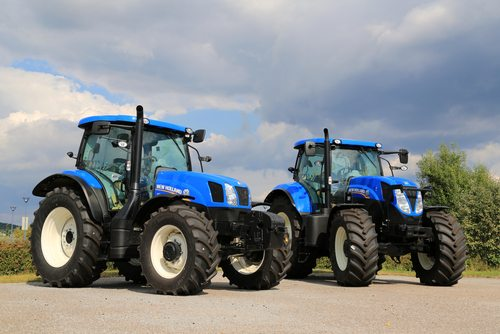 about mark hellier tractors