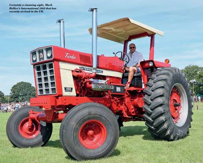 First-cl Farmall - Mark Hellier Tractors Limited on