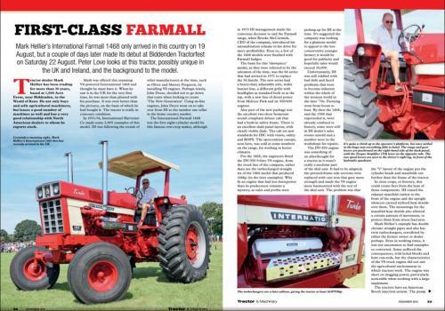 Mark Hellier Tractors